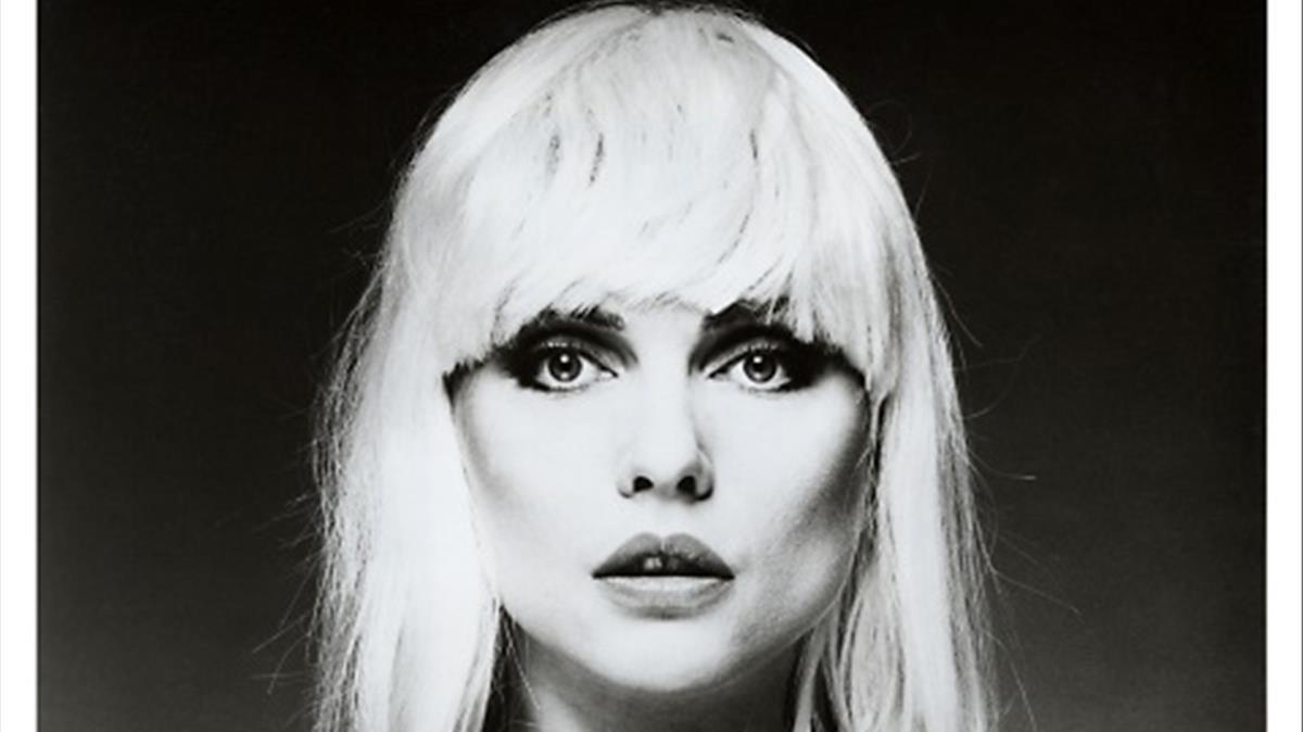 Debbie Harry, en la carátula de un disco.
