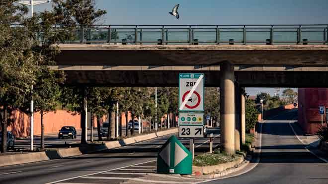 La Zona de Bajas Emisiones (ZBE) de Barcelona ya se encuentra en vigor.