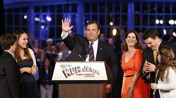 El republicà Chris Christie, reelegit governador de Nova Jersey