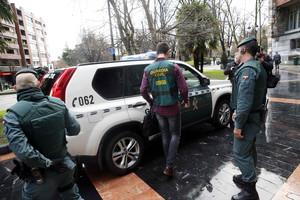 CINCO DETENIDOS TRAS REGISTRO SEDE UGT DE OVIEDO, ENTRE ELLOS SU EXSECRETARIO