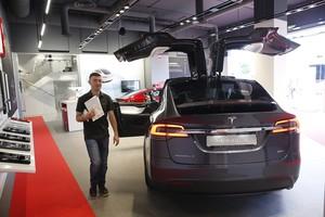 Concesionario de Tesla en LHospitalet.