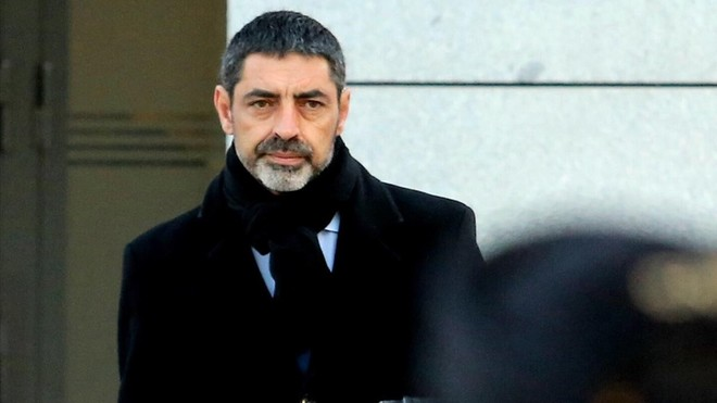 Trapero compareix per tercera vegada davant la jutge Lamela (CA)