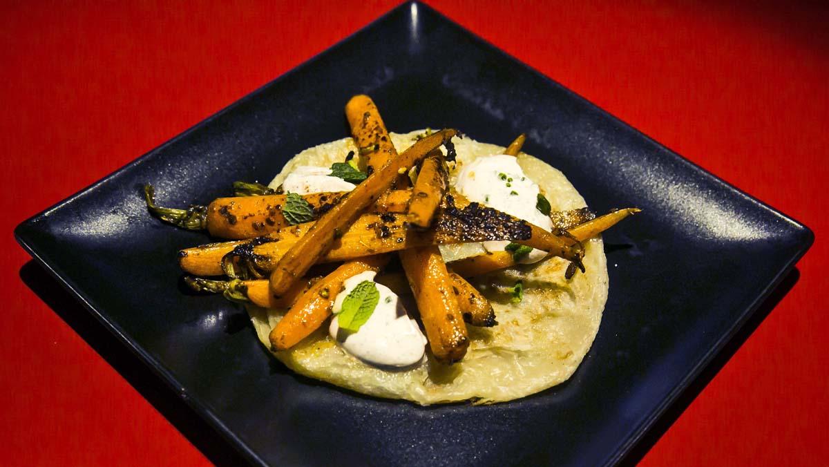 Restaurant Hawker 45, recepta de la pastanaga tandoori