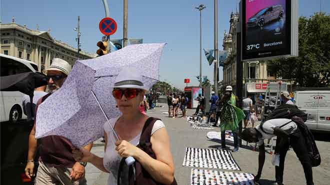 El juliol ha sigut el mes més calorós de la història al món