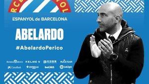 L'Espanyol apel·la a l''esperit Abelardo'