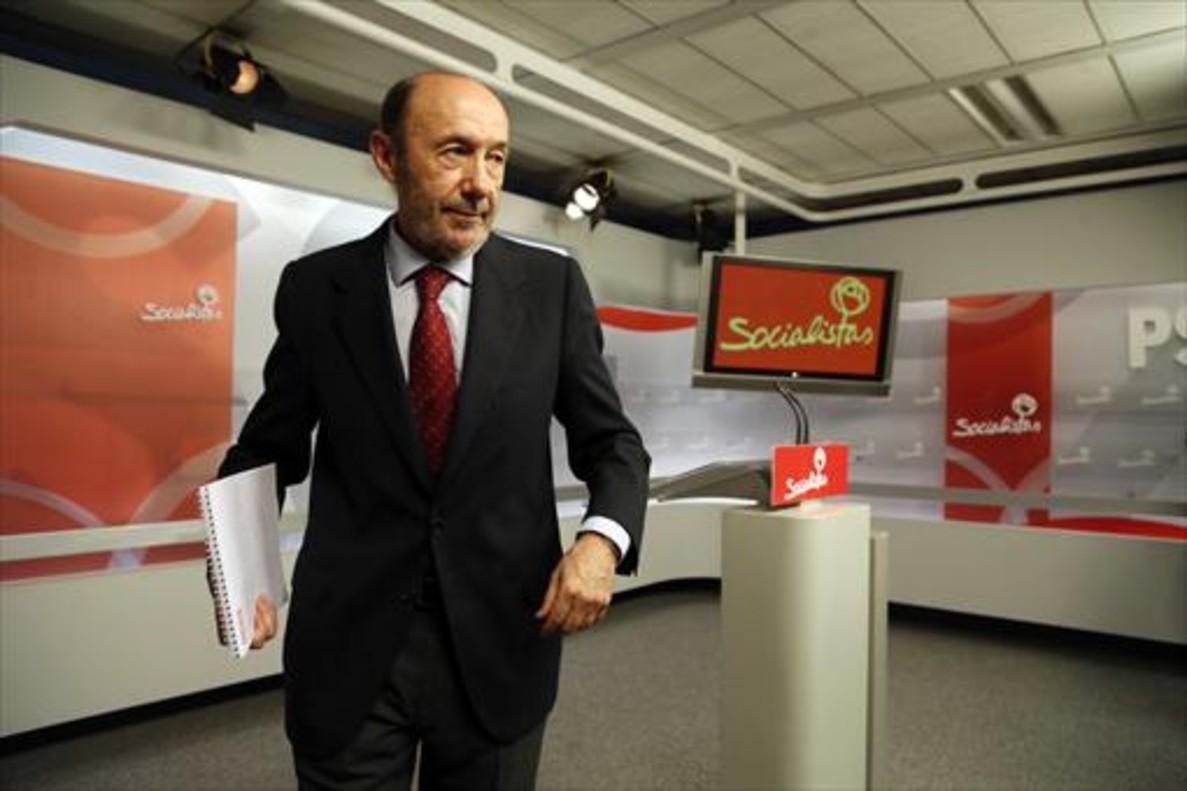 ALFREDO PÉREZ RUBALCABAFue portavoz en dos etapas: entre 1993 y 1996, y luego, con Zapatero, de 2010 a 2011.