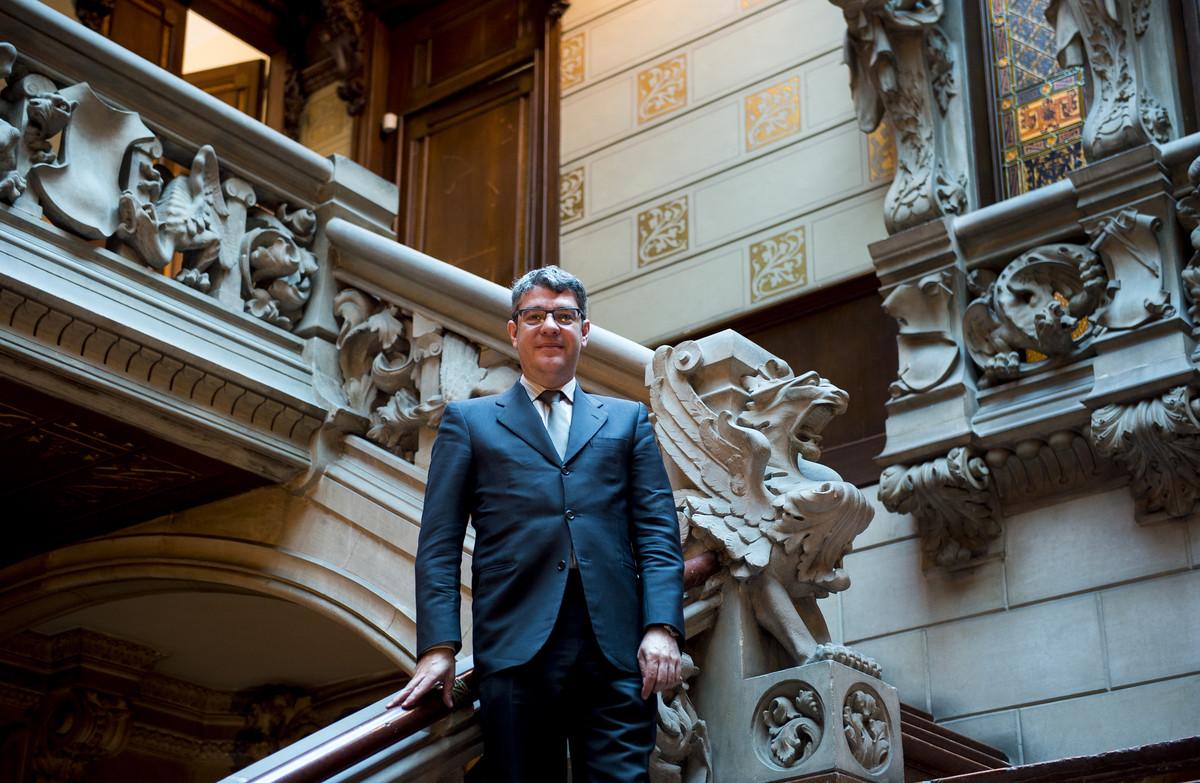 Álvaro Nadal, en la delegación del Gobierno en Barcelona.