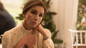 Ana Belén, en el rodaje de la nueva serie de TVE 'Traición'.