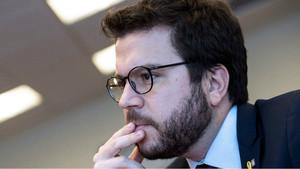 El vicepresident de la Generalitat y titular del Departament deEconomia, Pere Aragonés.