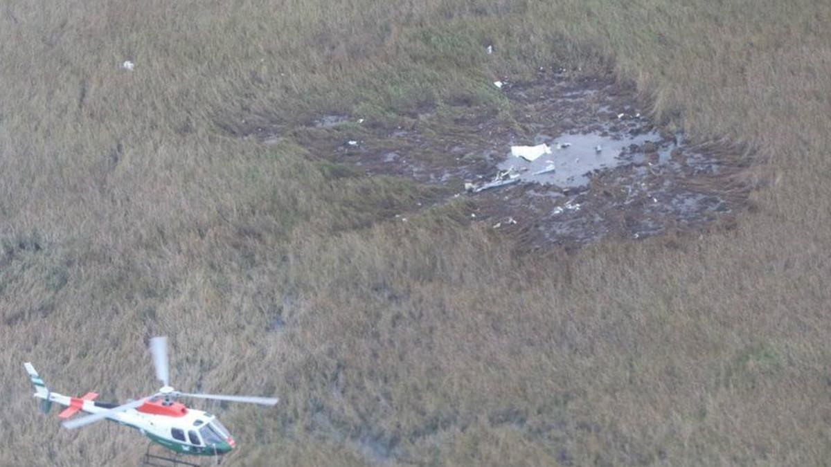 Ministro y viceministro de Paraguay murieron al estrellarse su avioneta