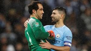 Bravo y Agüero, tras superar la eliminatoria.