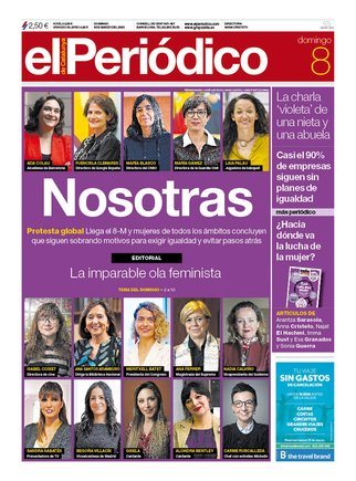 Prensa de hoy: Las portadas de los periódicos del domingo 8 de marzo del 2020