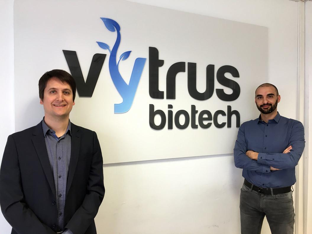 Vytrus Biotech, fundada enTerrassa por Albert JanéyÓscar Expósito,prevé incorporarse al Mercado Alternativo Bursátil (MAB) en el 2019.