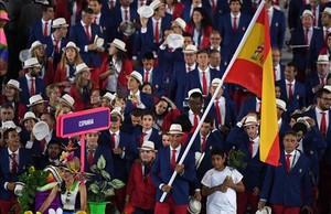 Rafa Nadalfue el abanderado español en los últimos Juegos Olímpicos celebrados en Río de Janeiro en 2016.