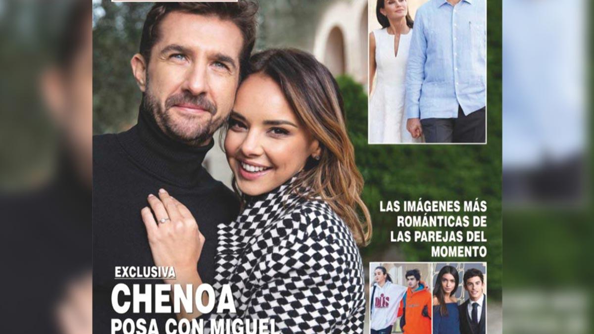 Chenoa y Miguel desvelan los detalles de su boda.