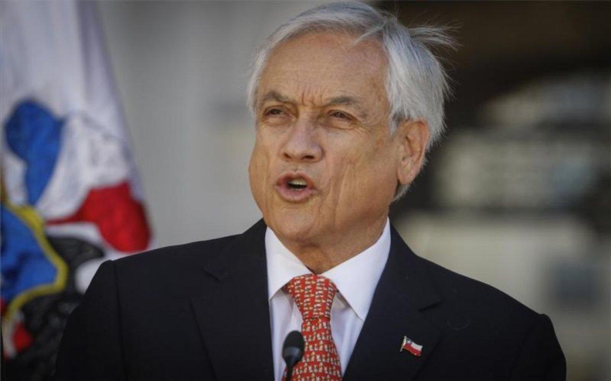 El presidente de Chile, Sebatián Piñera.