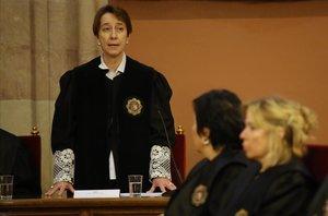 Concha Talón, fiscala jefa de Barcelona