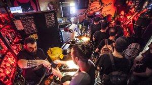 Concierto de Undersave en el bar Ceferino