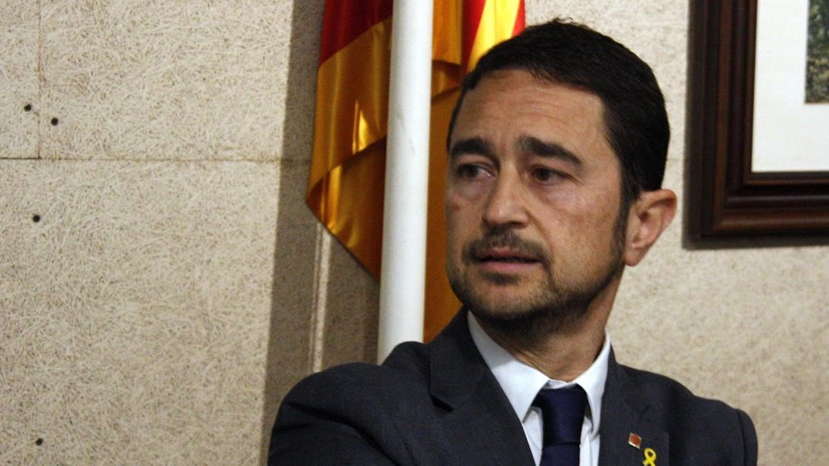 Damià Calvet, 'conseller' de Territori de la Generalitat de Catalunya.