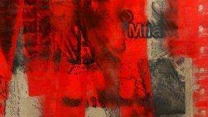 Detalle de una obra de Jorge R. Pombo