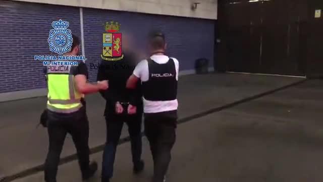Detención en Barcelona de Vittorio Raso, dirigente de la Ndrangheta.
