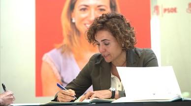 Dolors Monserrat , Ministra de Sanidad.