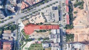 El edificiose ubicará en el solar situado a lo largo de la futura calle de Antoni Santiburcio, entre el paseo de Torres i Bages y el parque del mismo nombre.