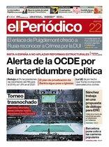 Prensa de hoy: Las portadas de los periódicos del viernes 22 de noviembre del 2019