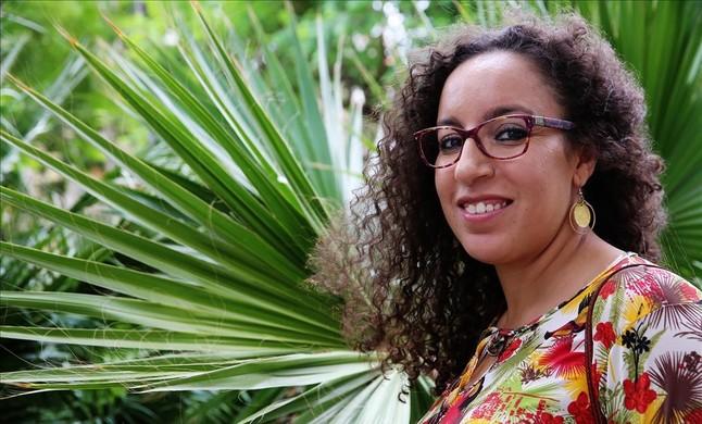 La escritora y columnista de EL PERIÓDICO Najat el Hachmi.