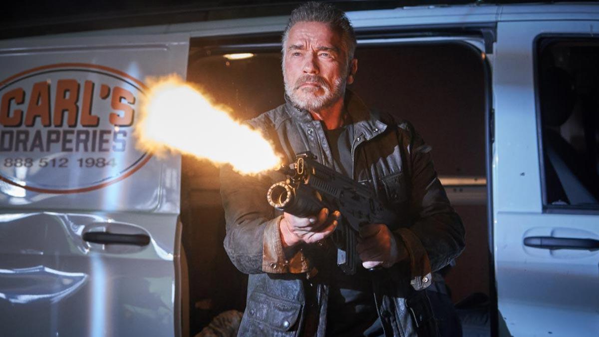 "Estrenos de la semana trailer de "" Terminator: destino oscuro """