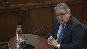 El exministro del Interior, Juan Ignacio Zoido, en el juicio del 'procés'.