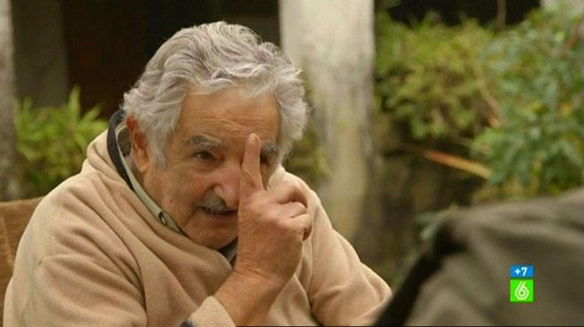 El presidente Mujica, en su 'chacra' de Montevideo ('Salvados').