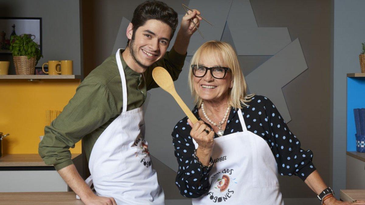 Fabián León y Maribel Gil, dos de los aspirantes de 'Masterchef' que más éxito han tenido en el mundo de la televisión.