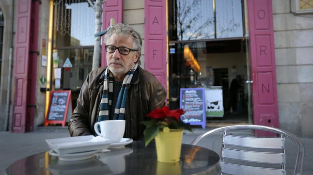 JAVIER MARISCAL En la terraza del Café del Born (Pl. Comercial, 10)