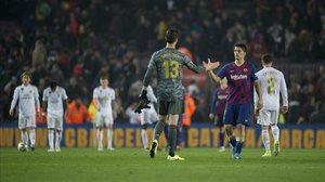 Al final, sí, Real Madrid y Barça acabaron dándose la mano