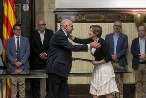 """Forcadell defiende un Parlament """"sin censuras ni autocensuras"""""""