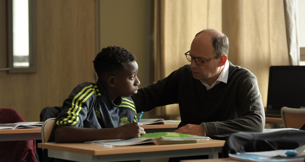 Fotograma de la película francesa El buen maestro, de Oliver Ayache-Vidal