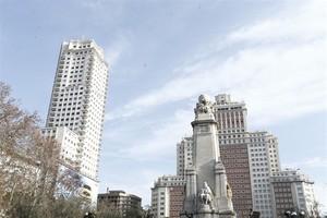 Plaza de España, en una foto de archivo.