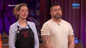 Gloria y Marcos, nuevos expulsados de 'Masterchef 7'.