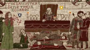 Un tapiz de 77 metros narra todo 'Juego de tronos'