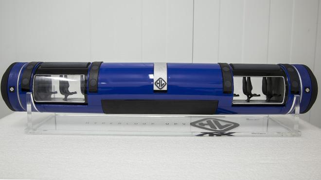 El Hyperloop de la UPV, atracción de futuro.