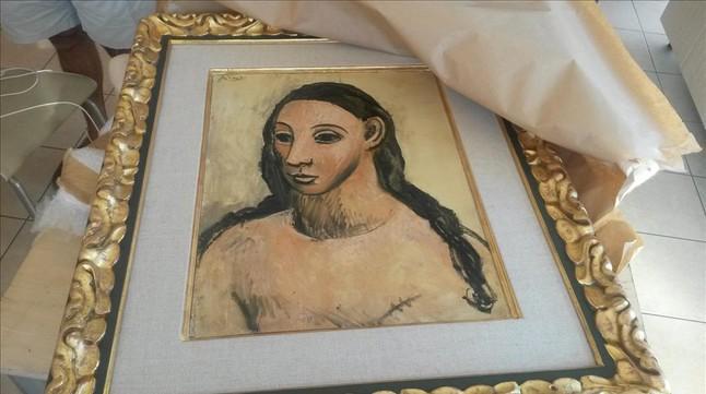 'Cabeza de mujer joven', obra de Picasso, propiedad de Jaime Botín.