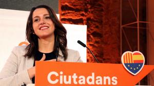 Inés Arrimadas, en un acto del partido.