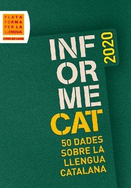 InformeCAT 2020. 50 dades sobre la llengua catalana