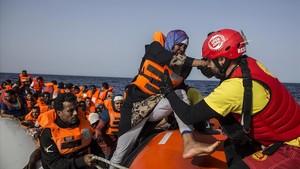 Inmigrantes sin salvamento