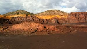 El paisaje marciano de Río Tinto.