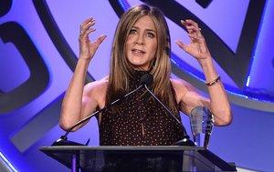 Jennifer Aniston, en la gala de los premios ICG Publicists, en Beverly Hills, el 7 de febrero.