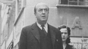 El escritor Josep Carner, durante su exilio en México.