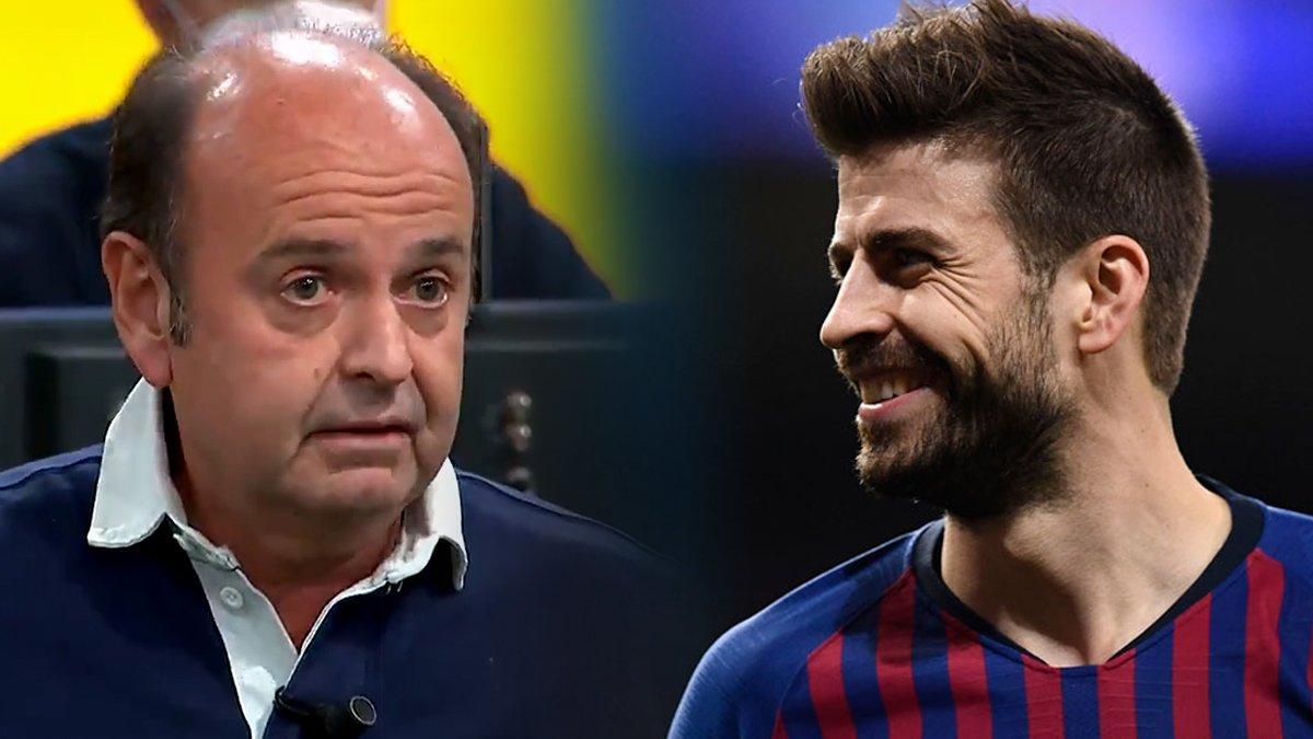 Piqué surt en defensa de Casillas i anomena «Gargamel» el periodista Juanma Rodríguez
