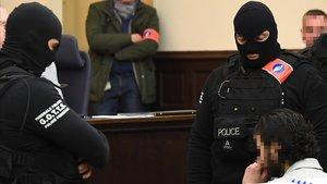 Juicio de Salah Abdeslam en el Palacio de Justicia de Bruselas
